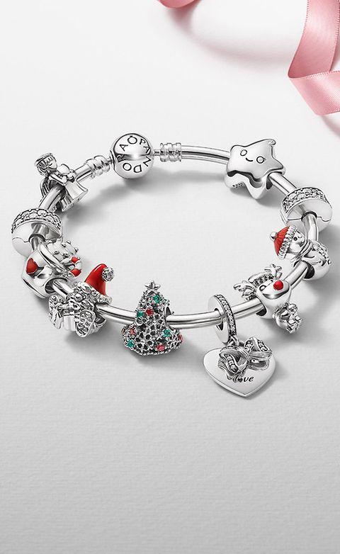 Collection Pandora Hiver 2020 : Les charms de Noël