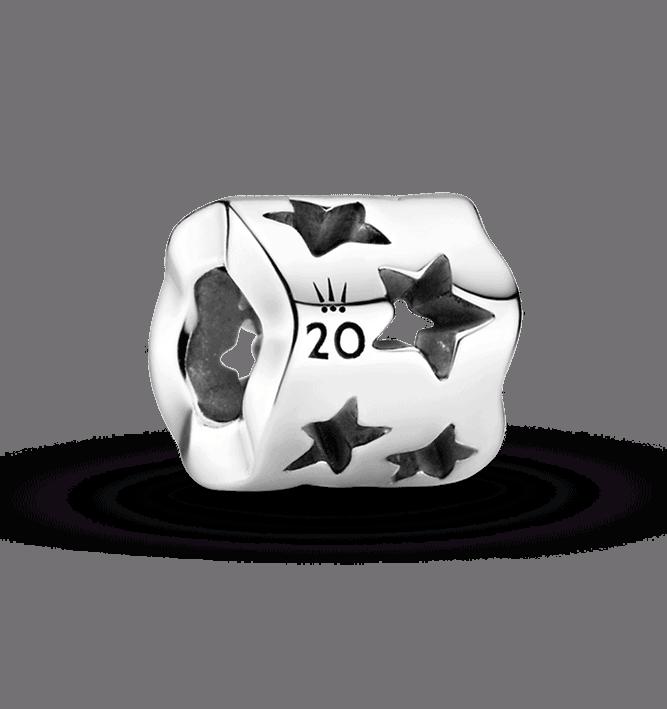 Charm des 20 ans Pandora Novembre