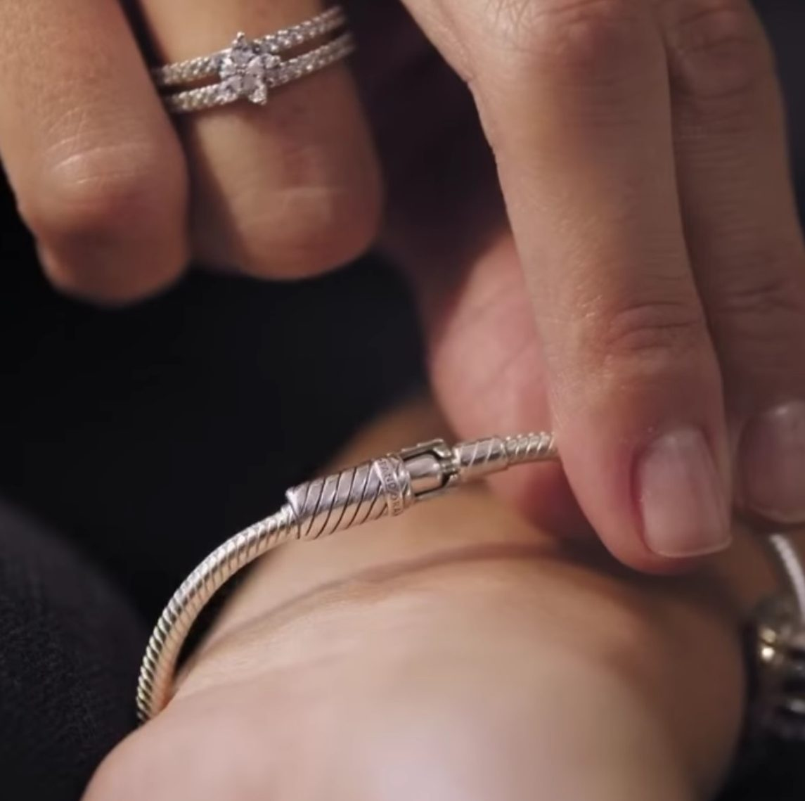 Système de fermeture du fermoir Magnétique du Bracelet Pandora 69€ - 599103C00