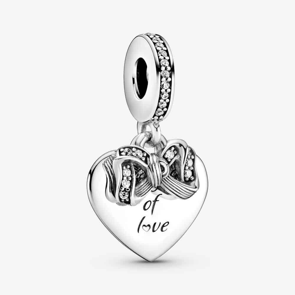 Charm Pendant Nœud & Cœur d'Amour 49,00 €