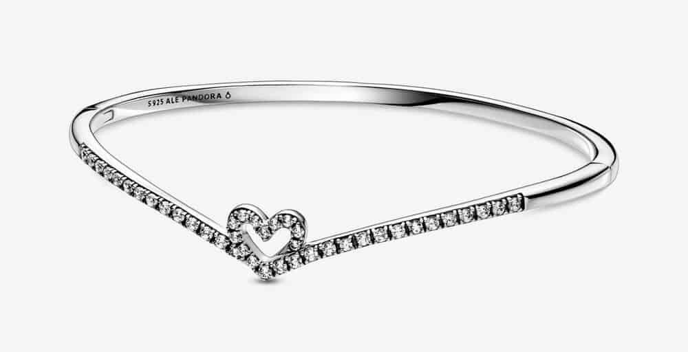 Bracelet Jonc Cœur Vœu Scintillant 99,00 € - 599297C01