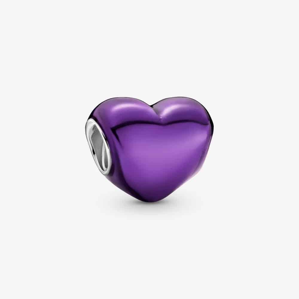 Charm Cœur Violet Métallique 35,00 € - 799291C01