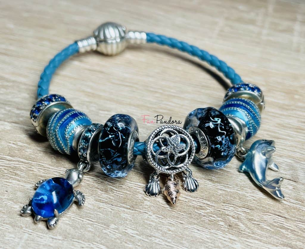 Bracelet Mer collection 2021 avec attrape-rêve coquillage