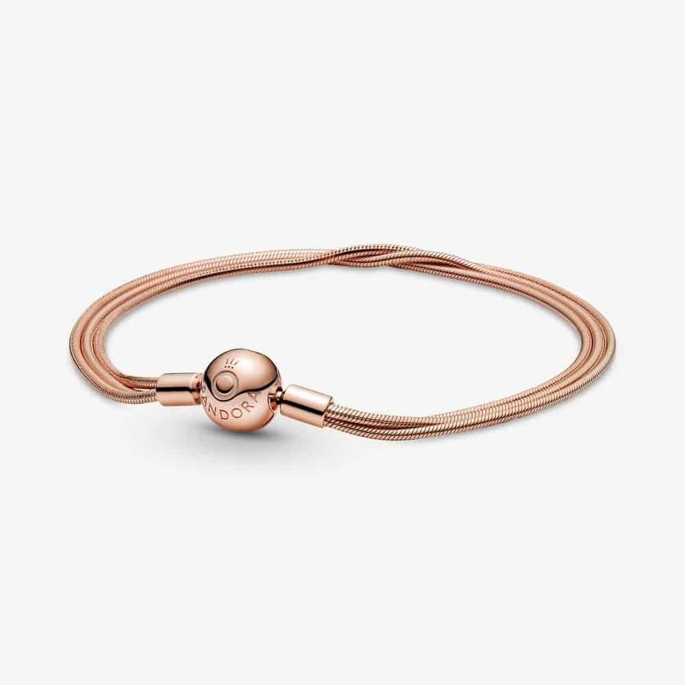 Bracelet Maille Serpent Multi-Rangs Pandora Moments 169,00 € – 589338C00