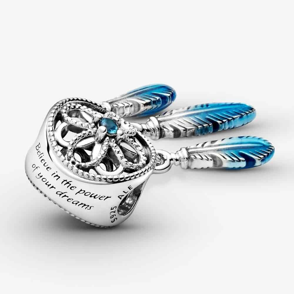 Inscription Charm Attrape-Rêves Bleu UNICEF 59,00 € - 799341C01