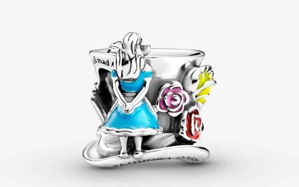 Charm Disney Alice au Pays des Merveilles & Thé du Chapelier Fou - 59€ - 799348C01