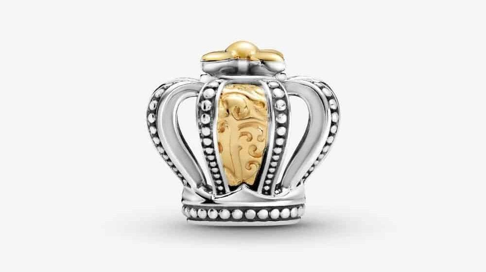 Charm Couronne Royale Bicolore 99,00 € – 799340C00