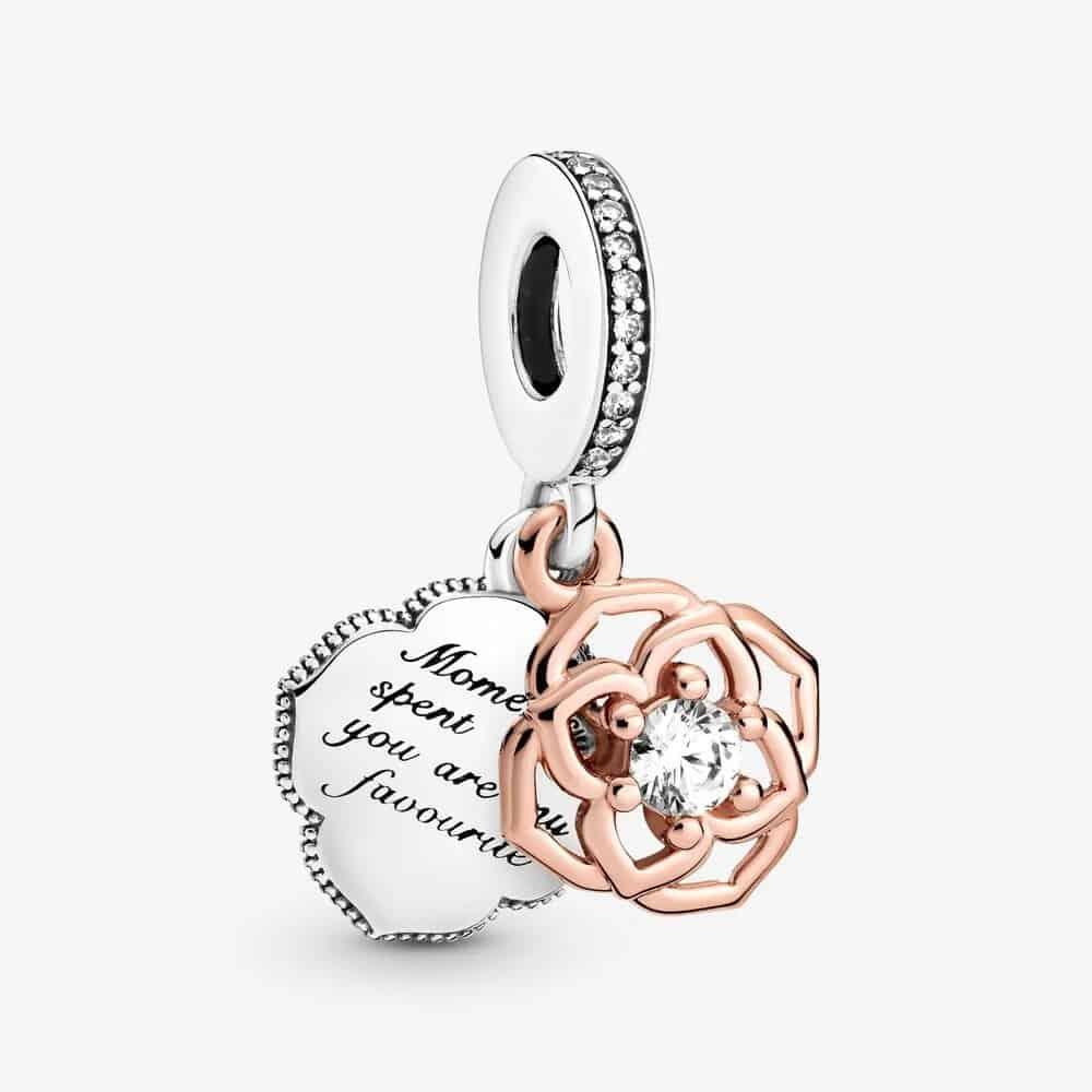 Charm Pendant Rose Bicolore 59,00 € – 789373C01