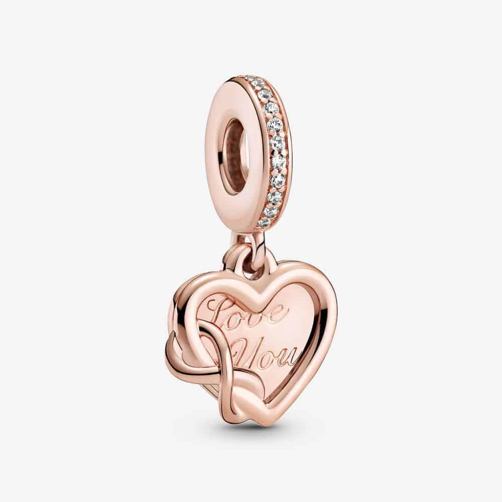 Charm Pendant Cœur Infini Love You (Je t'aime) 69,00 € - 789369C01