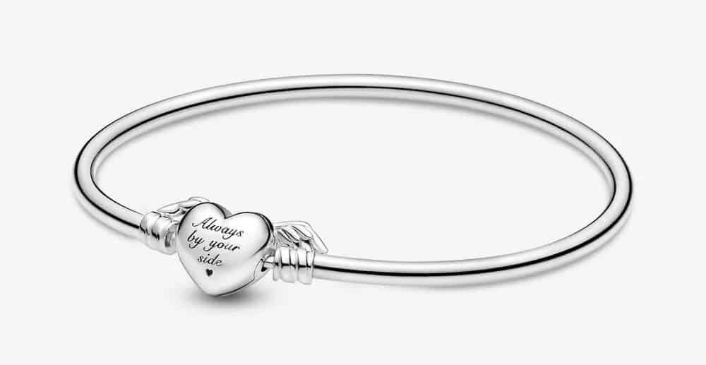Bracelet Jonc Cœur Ailé Pandora Moments - 599379C00