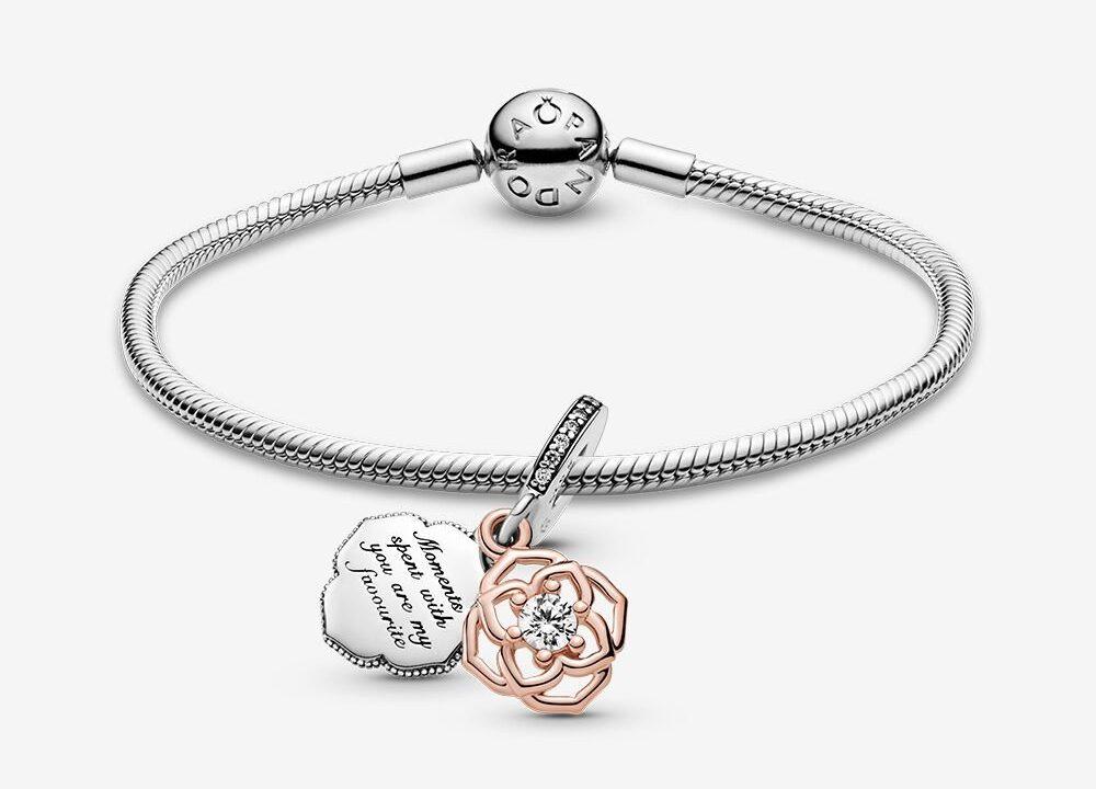 Bracelet Composé Pétale de Rose Bicolore 99,00 €