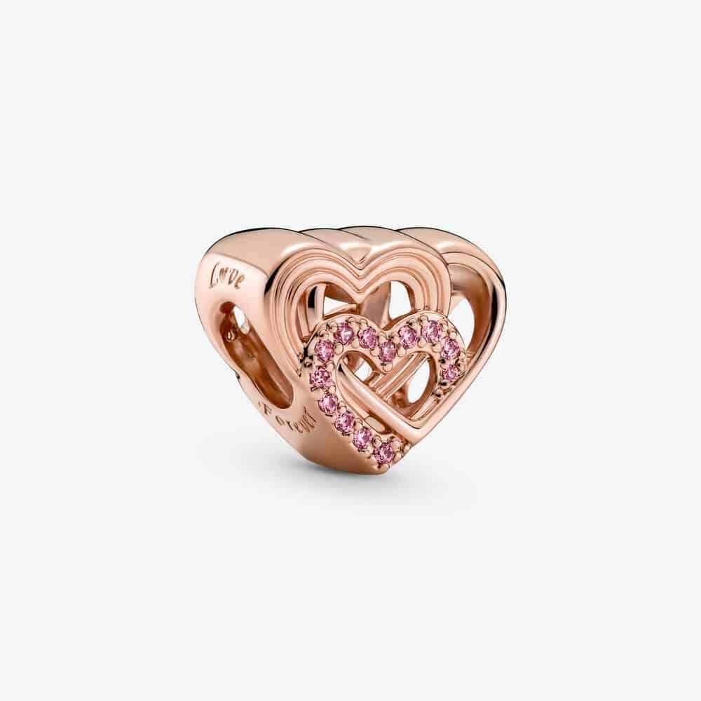 Charm Cœurs d'Amour Entrelacés 59,00 € - 789529C01