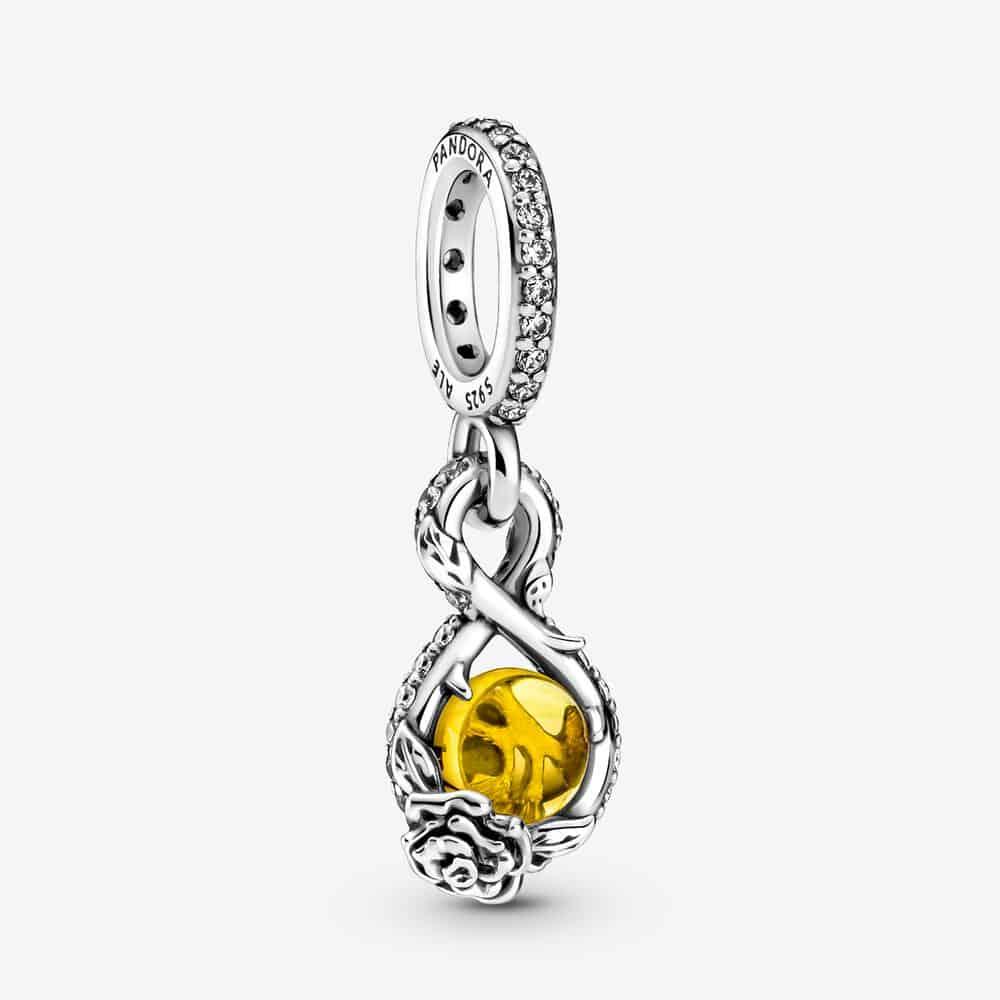 Pendentif Disney Belle Infini et Rose 59,00 € – 399525C01