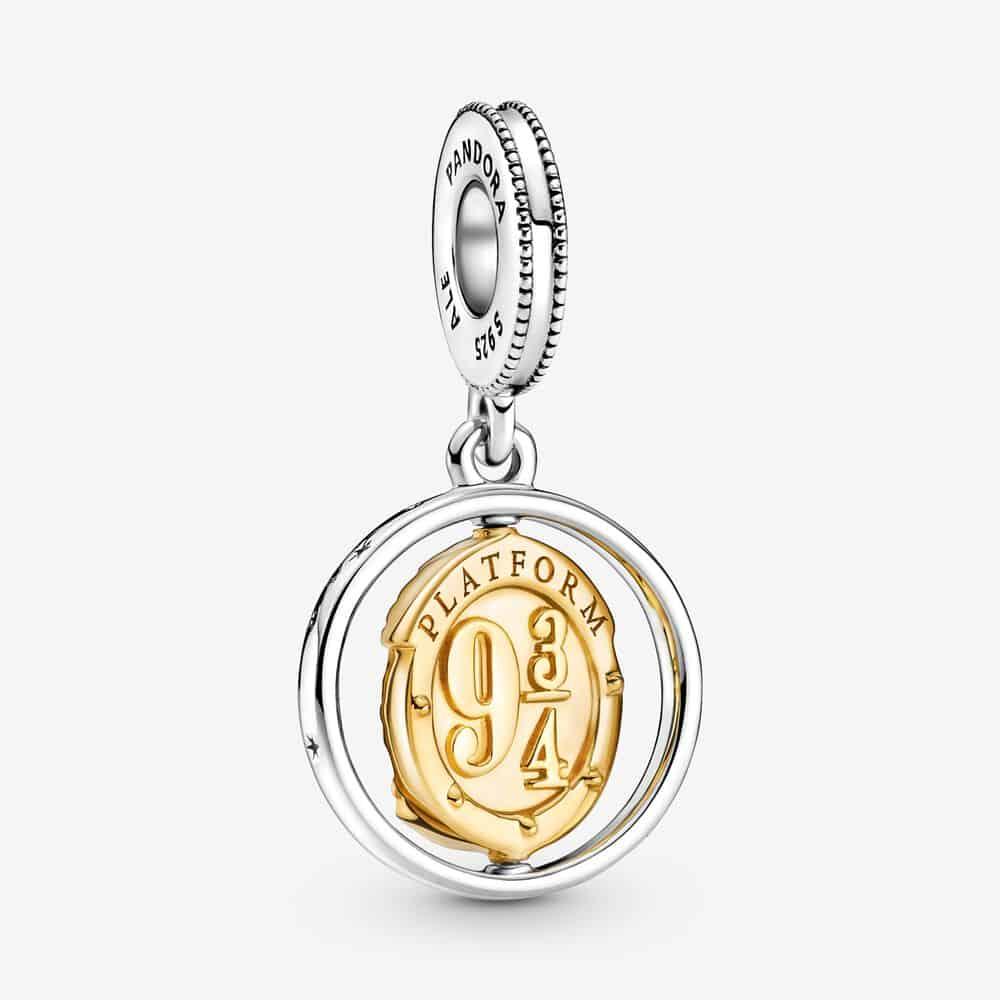 Charm Pendentif Pandora Harry Potter Voie 9 3/4 - 760035C00 - 69€