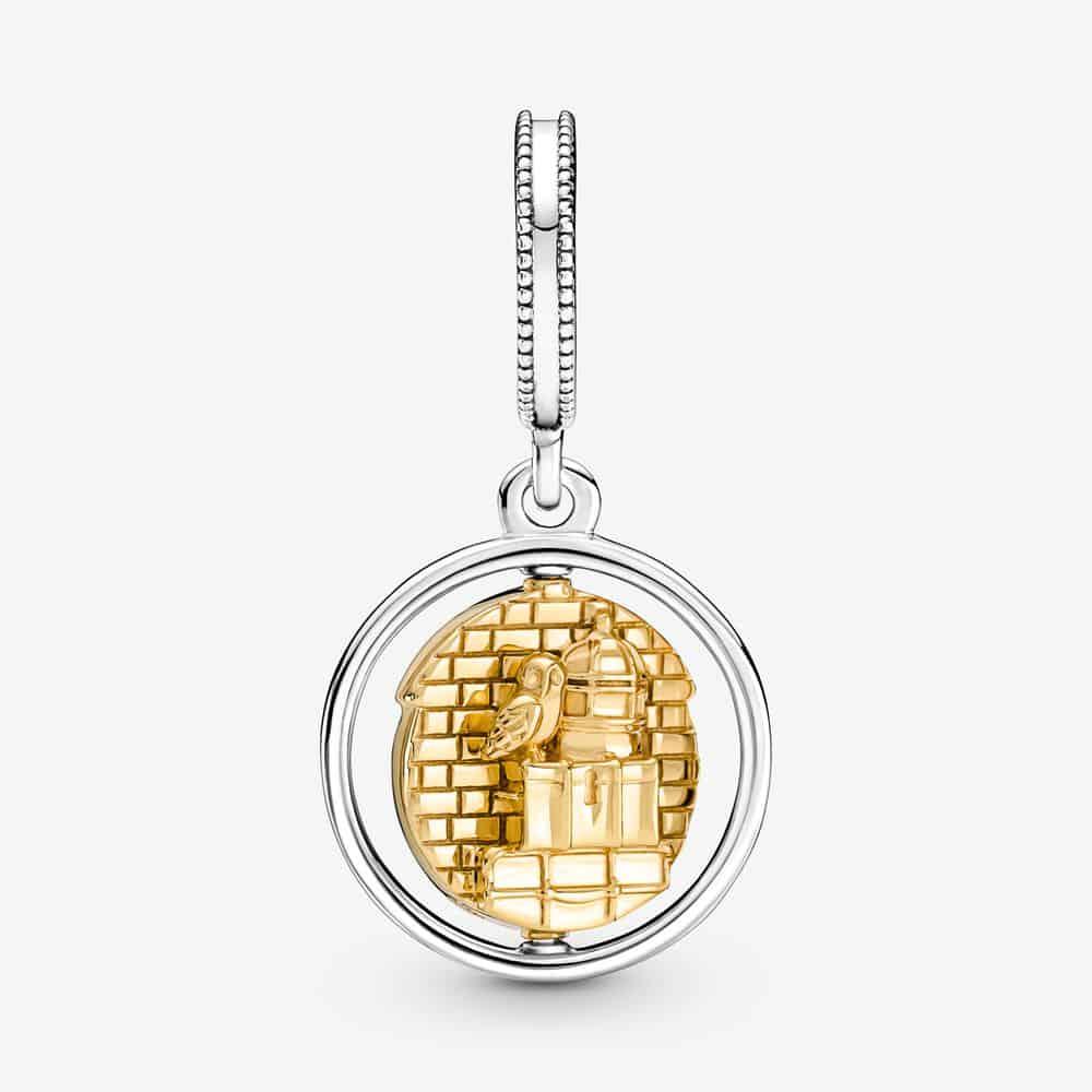 Dos du Charm Pendentif Pandora Harry Potter Voie 9 3/4 - 760035C00 - 69€